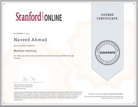 Stanford Post Mba Certificate by Blogs Navacron Naveed Ahmad S Learning Node Am I