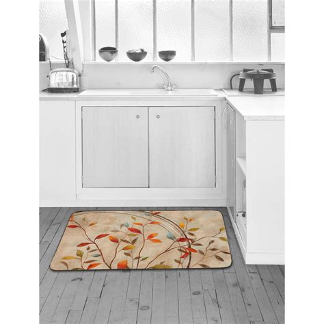 Designer Kitchen Mats Home Dynamix Designer Chef Autumn S Delight 24 In X 36 In Anti Fatigue Kitchen Mat 4 Dc15