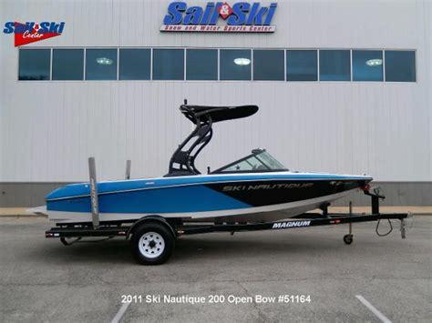 ski nautique boats used used nautique ski nautique 200 open bow boats for sale