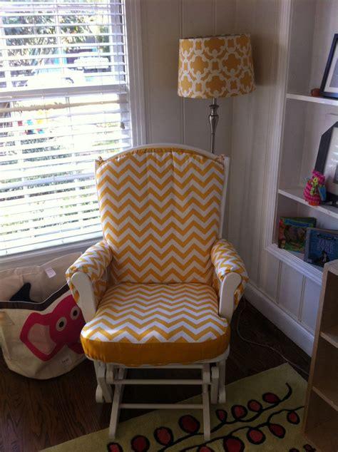 glider and ottoman cushion covers custom made nursery or home glider rocker chair cushion