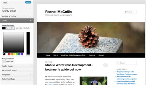 site layout customizer wordpress easy to follow tips to customize your wordpress design