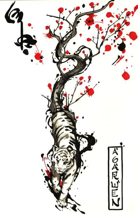 chinese zodiac tiger tattoo designs 62 tiger tattoos with meanings