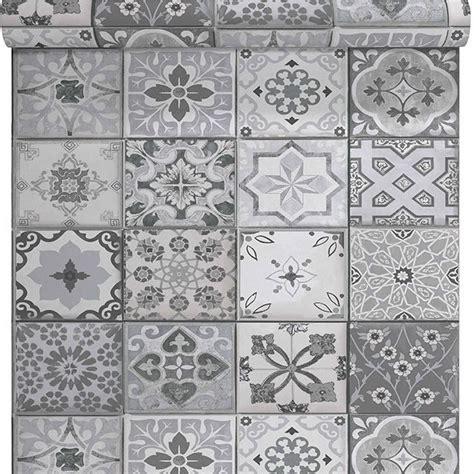 Tapisserie Carreaux De Ciment by Papier Peint Vinyle Sur Intiss 233 Lutece Carreaux De Ciment