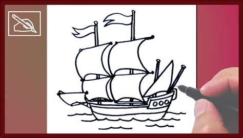 un barco para dibujar c 243 mo dibujar un barco con velas 2 how to draw a sailing