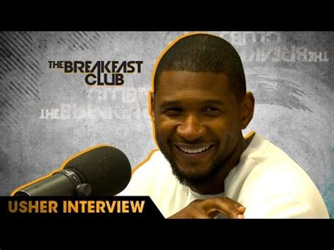 usher question usher interview with the breakfast club