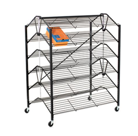 folding shoe rack shoe rack wire and metal displays