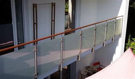 edelstahlgeländer mit glas edelstahlgel 228 nder mit glas balkongel nder balkon