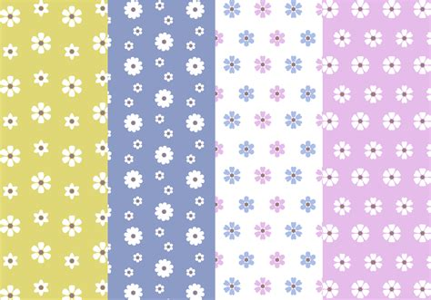 free pattern in vector free flower pattern vector download free vector art