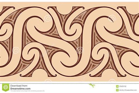 maori tattoo pattern stock photography image 23420702