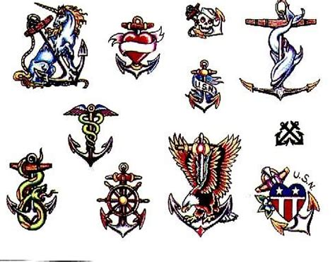 naval tattoo designs 15 navy designs