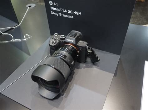 sigma  mount lenses spotted  cp sony addict