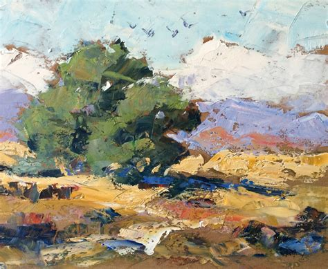 tom brown large california impressionist