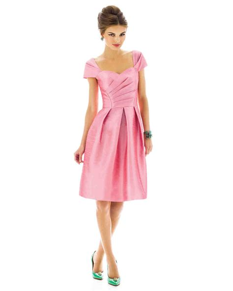 D592 Dress alfred sung pantone bridesmaids martha stewart weddings