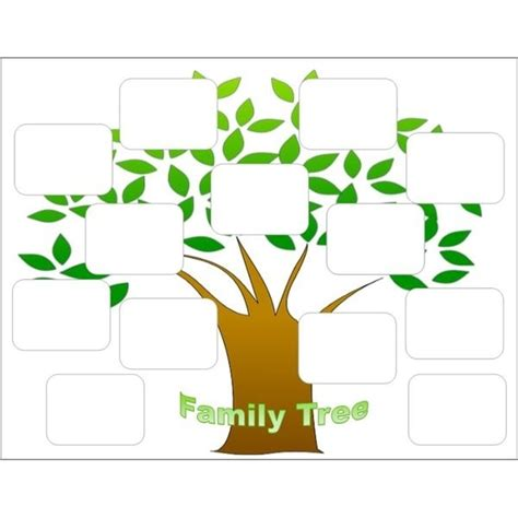 Editable Family Tree Template Beepmunk Family Card Template 2
