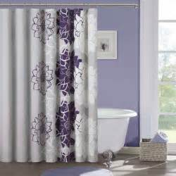 bathroom most beautiful shower curtains with purple wall