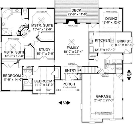 traditional style house plans 2398 square foot home 1