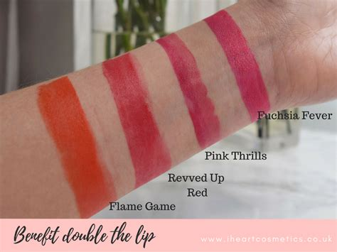 Benefit They Re Real The Lip Lipstick Liner In One Original benefit they re real the lip swatches review