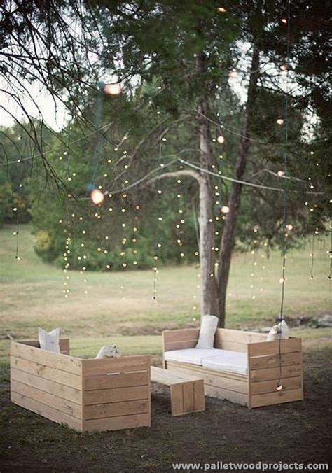 Patio Furniture Lighting Inspired Pallet Furniture Ideas Pallet Wood Projects