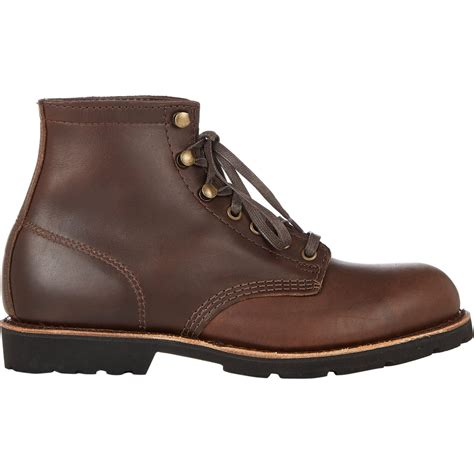 s boots with laces hh brown shoe company s lace up eddard boots in brown