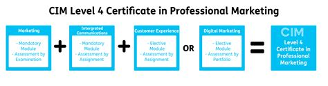 cim certificate in professional marketing with