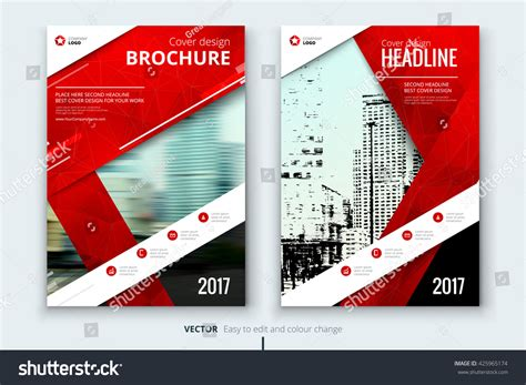 sweethomes catalog cover ralev logo brand design red cover design annual report catalog stock vector