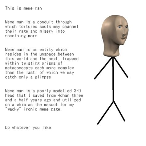Meme Man - meme man know your meme