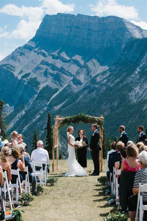 most beautiful wedding venues in canada where to get married in banff canmore lake louise jasper and beyond