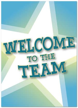 Welcome To The Team Card Template by Welcome To The Team Card Employee Welcome Cards Posty