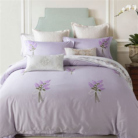 Lavender Bed Set Get Cheap Lavender Comforter Sets Aliexpress Alibaba