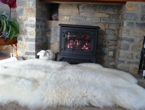 fluffy rug fire place dream  white sheepskin rug fluffy rug sheepskin rug