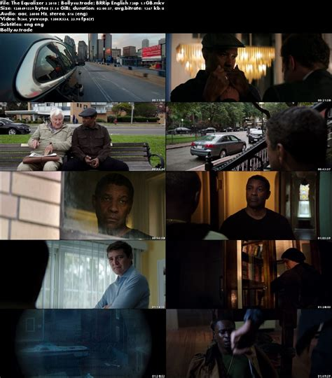 equalizer torrent the equalizer 2 2018 brrip 1 1gb english 720p esub