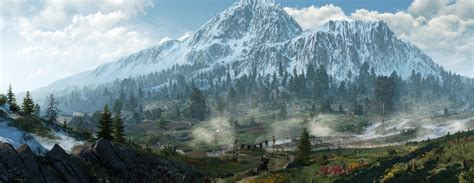 the witcher 3 wild hunt landscape ultrawide landscape nature photography the