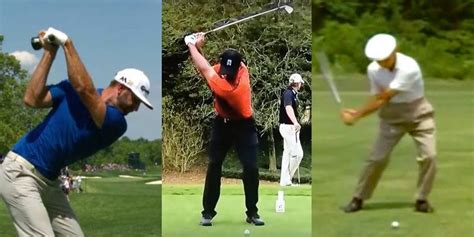 why swinging why you shouldn t copy the golf swings of the pros adam