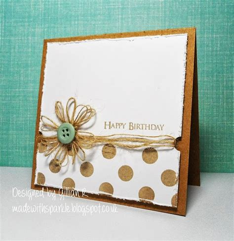Easy Handmade Birthday Cards - 17 best ideas about birthday cards on cards