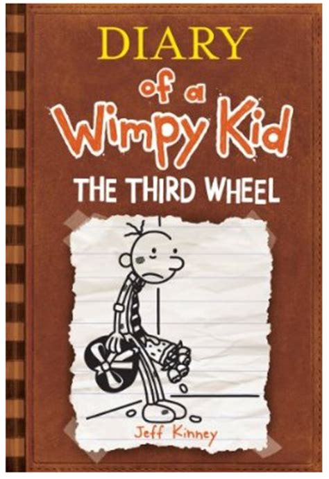 diary of a wimpy kid third wheel book report diary of a whimpy kid quot the third wheel quot only 7 75