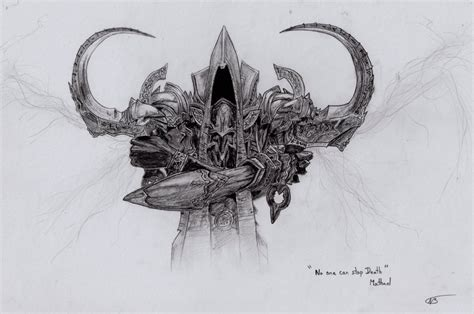 Diablo 3 Sketches by Malthael By Naos76 On Deviantart