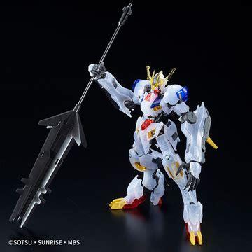 Bandai Hg Gundam Barbatos Lupus Clear Ver hgi bo asw g 08 gundam barbatos lupus rex clear color ver