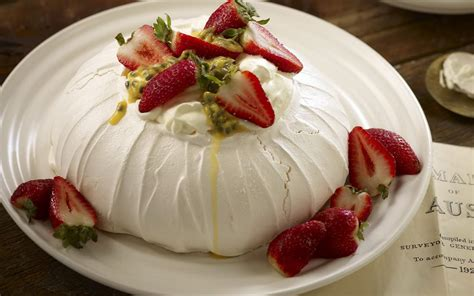 Pavlova For Pavlova pavlova recipe dishmaps