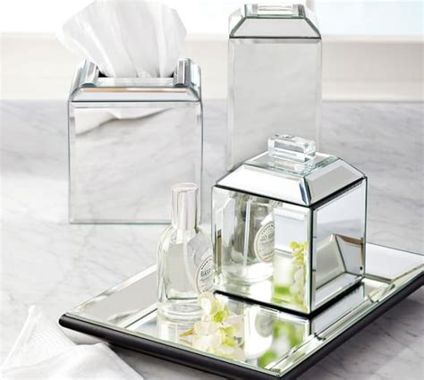 pottery barn bathroom hardware mirrored bath accessories pottery barn