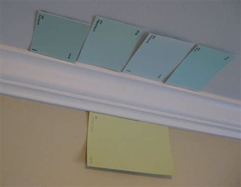pear green walls a light blue ceiling for the nursery house