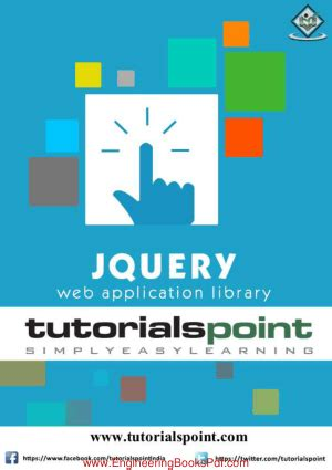 tutorial on jquery pdf jquery tutorial engineering books pdf