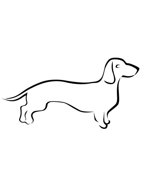line dogs free coloring pages of easy