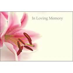 in loving memory card discount floral sundries discount