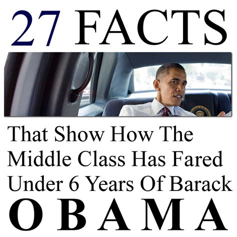 the obama years just the facts books 27 facts that show how the middle class has fared 6