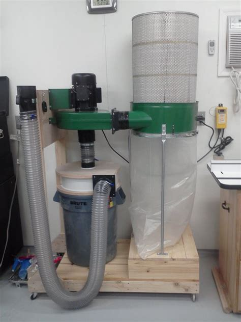 Dust Collector Reconfiguration Upgrade By Todd