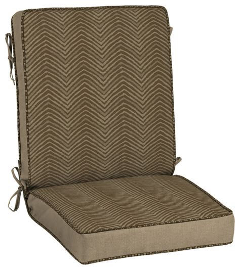 Outdoor Zebra Cushions Shop Houzz Bombay Outdoors Zebra Snap Chair Cushion