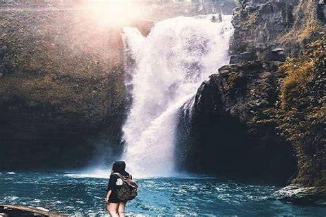 tegenungan waterfall surga tersembunyi  bali media