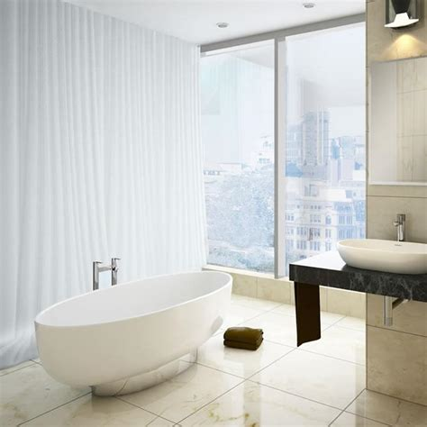 clearwater bathrooms clearwater puro 1700mm natural stone freestanding bath with plinth sanctuary bathrooms