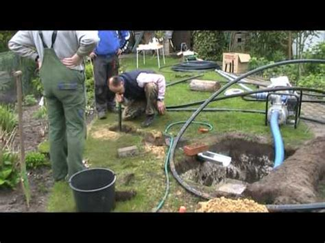 fliesen bei hornbach 2813 gartenbew 228 sserung selber bauen drainage verlegen garten