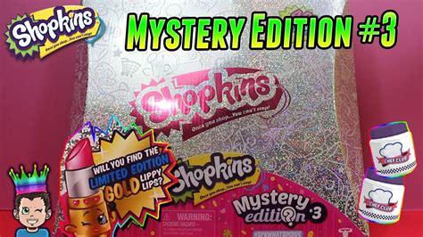 Shopkins Original Mystery Edition 2 shopkins mystery edition 3 exclusive glitter shopkins
